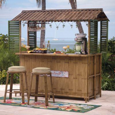 Margaritaville Tiki Bar | Frontgate on Backyard Tiki Bar For Sale id=23131