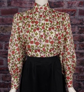 red floral #1641