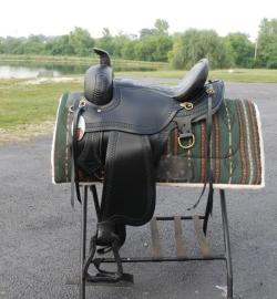 Draft Horse Trail Saddle