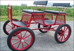 Robert Carriages 2 Seat Trail Buggy