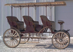 Roberts Carriages 3 Seat Surrey with Canopy