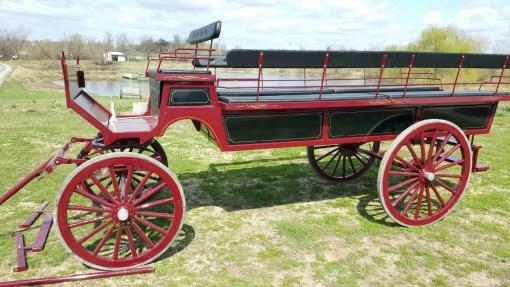 12 passenger wagonette