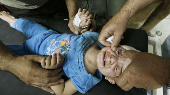 Palestine enfance martyrisée