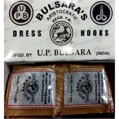 Bulsara Dress Hook - Brass