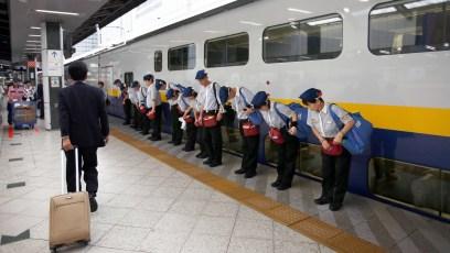 Japanese Security Attendants.