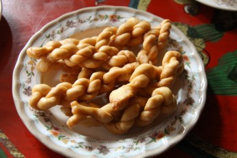 Khapsyo, a Mustang confection