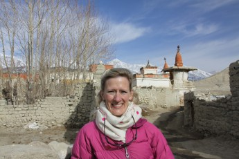 Mollie in Lo Manthang