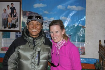 The Crown Prince of Mustang with Mollie