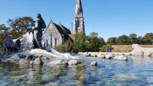 La fontana più bella parla delle origini mitologiche danesi