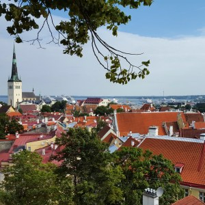 Tallinn dall'alto