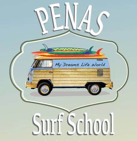 penas surf school