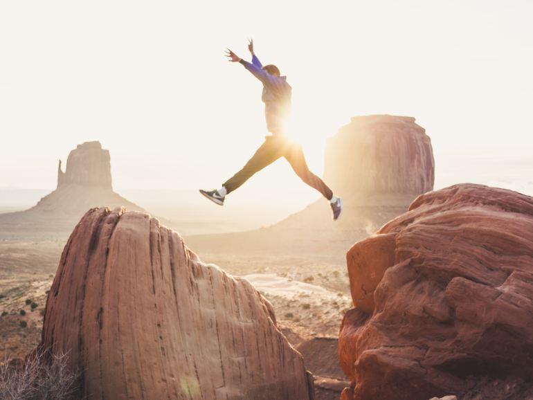 take that jump