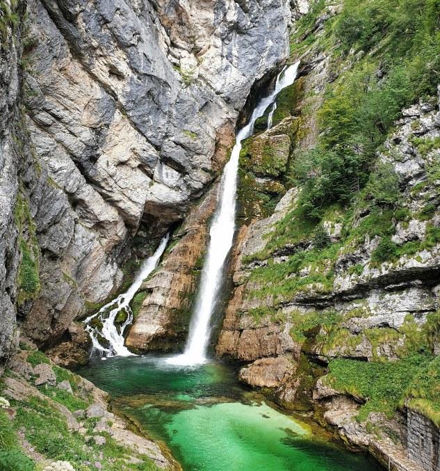 cascate in slovenia