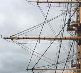 Ships rigging with the iPhone