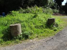 Anti-Tank Cylinders on Bluebell Hill