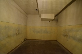 A multiple occupancy holding cell in the U-Boot. With no segregation of men, women or children, up to 20 people would have been held here.