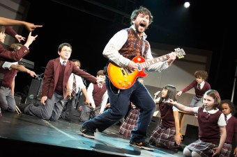 SCHOOL OF ROCK - 2015 PRES ART- Pictured: Alex Brightman andn cast- Photo Credit: Timmy Blupe