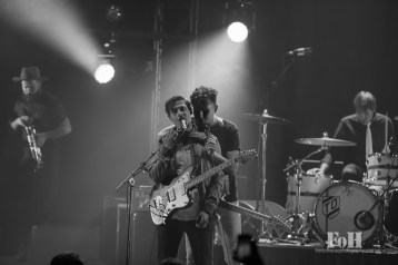Arkells perform the first of two sold-out shows at Massey Hall, Toronto