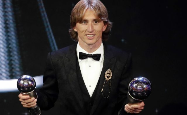 Croatia's Luka Modric is FIFA Best Player of the Year, beats Ronaldo, Messi