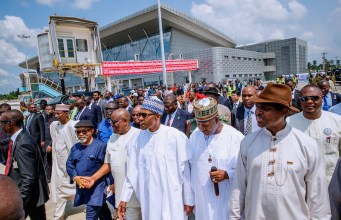 Why we removed VAT from domestic air travels –Buhari