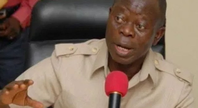 Reason PDP opposed Buhari's order against ballot box snatchers -Oshiomhole