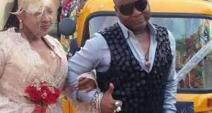 Charly Boy weds wife in church after 40 years, states reasons