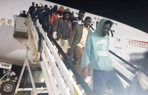 Another batch of stranded Nigerians return from Libya, tell tales of woe