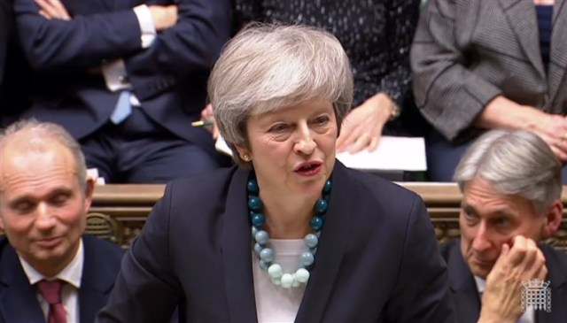 Brexit: MPs to vote on no-deal after rejecting May's plans