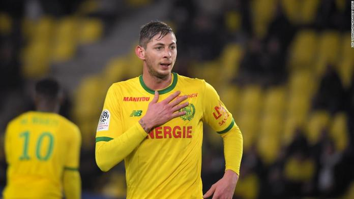 Recovered body identified as Emiliano Sala's –Police