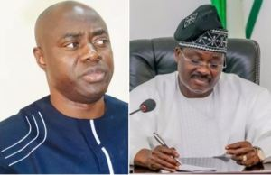 Oyo: What Ajimobi told Seyi Makinde when he visited Govt House