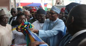 Buhari commissions 170-bed world class 'Ayinke House'