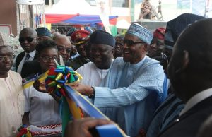 Buhari commissions 170-bed world class 'Ayinke House'