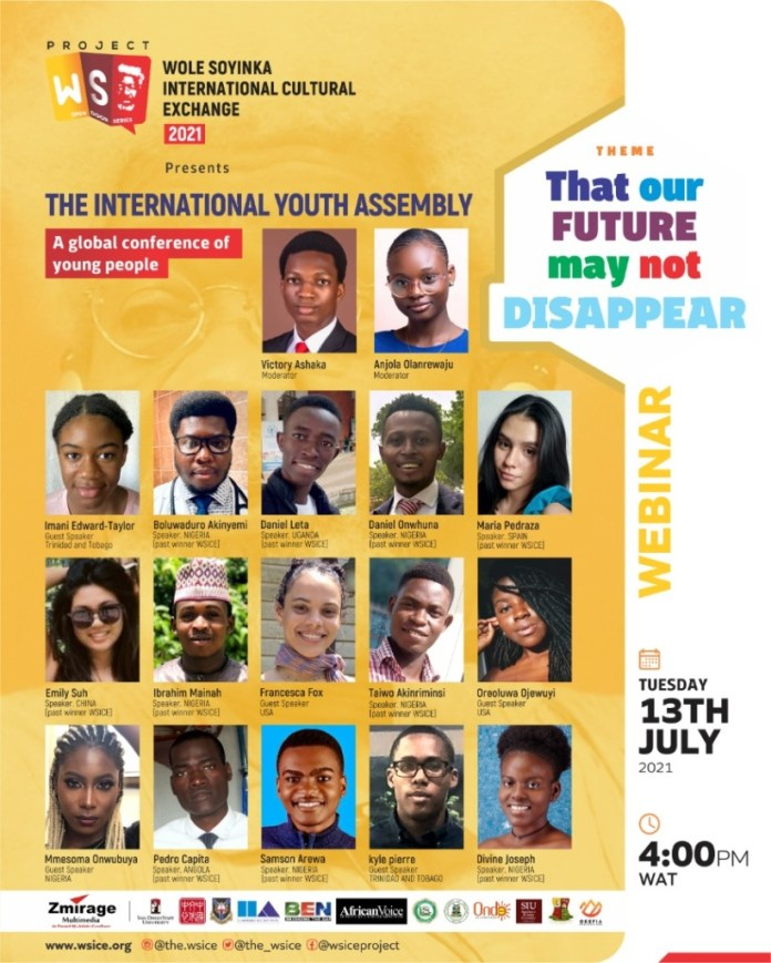 WSICE 2021: 17 young leaders from four continents for Soyinka's birthday