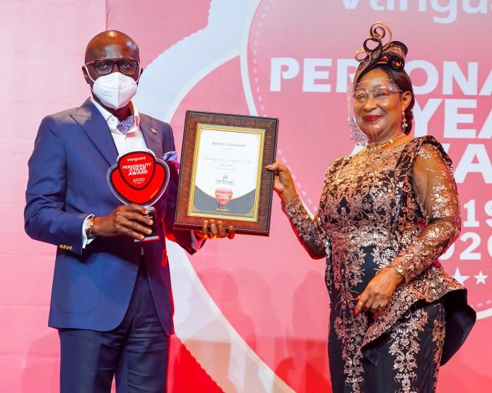 Personality of the Year: Sanwo-Olu dedicates award to Lagosians