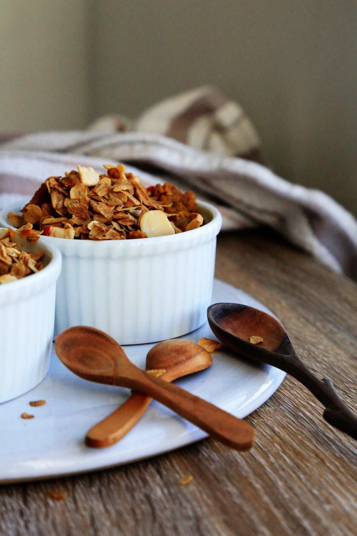 PUmpkin chia pudding with granola