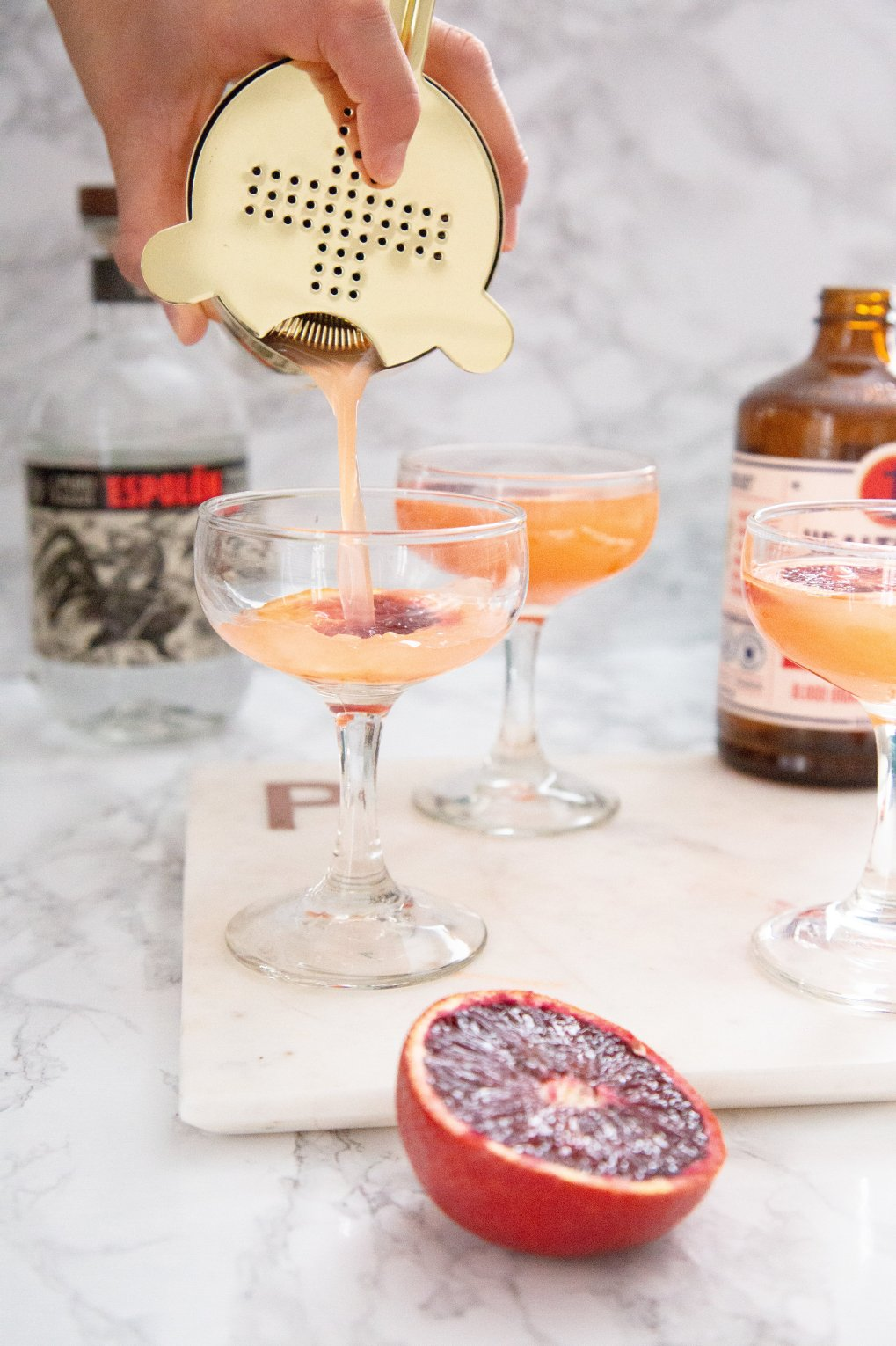 blood orange Springtini