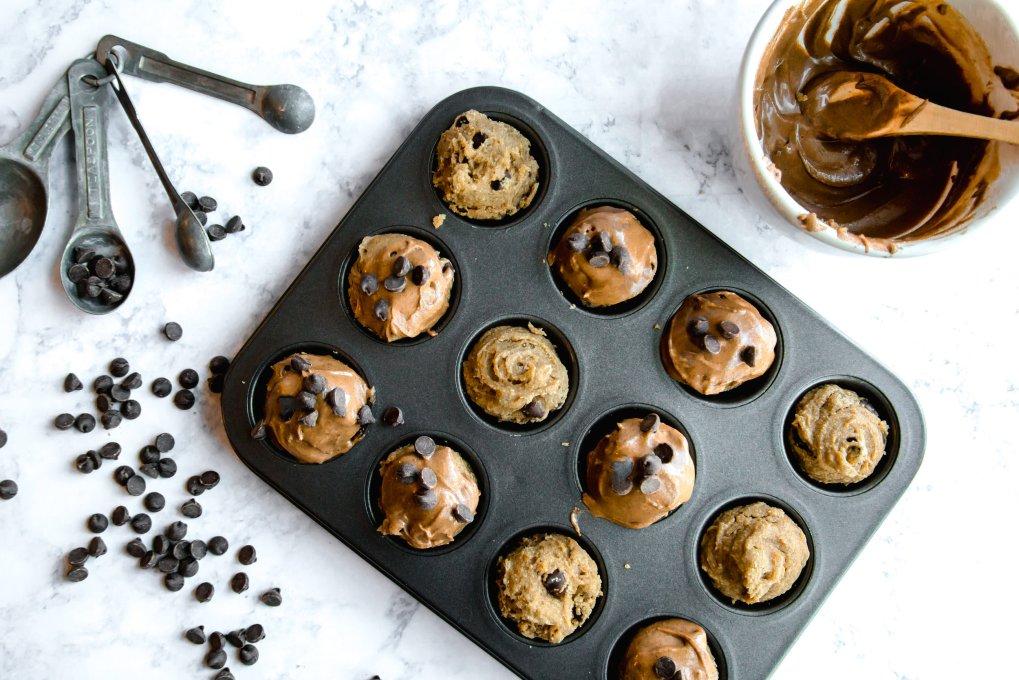 Protein Chocolate Chip muffins