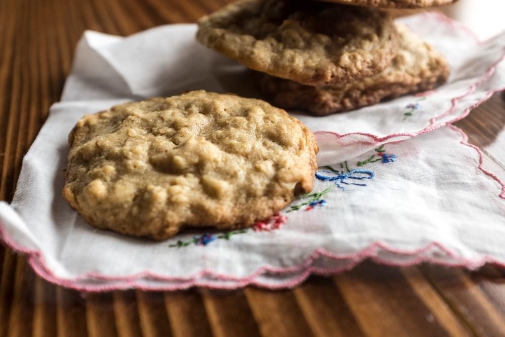 brown sugar oat cookies