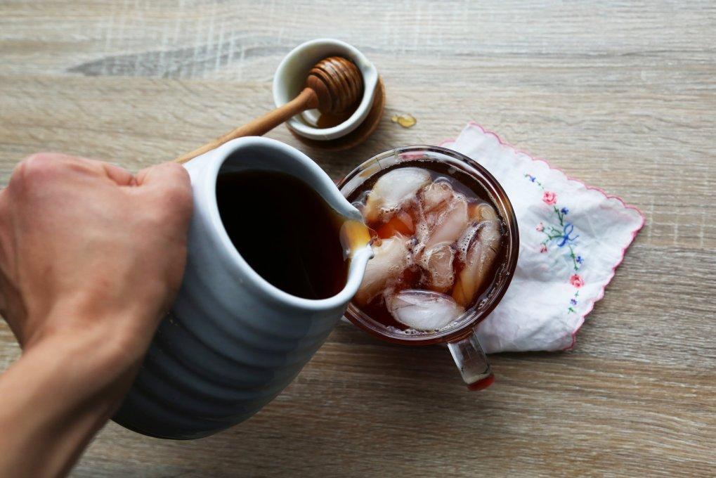 Iced Tea With Honey