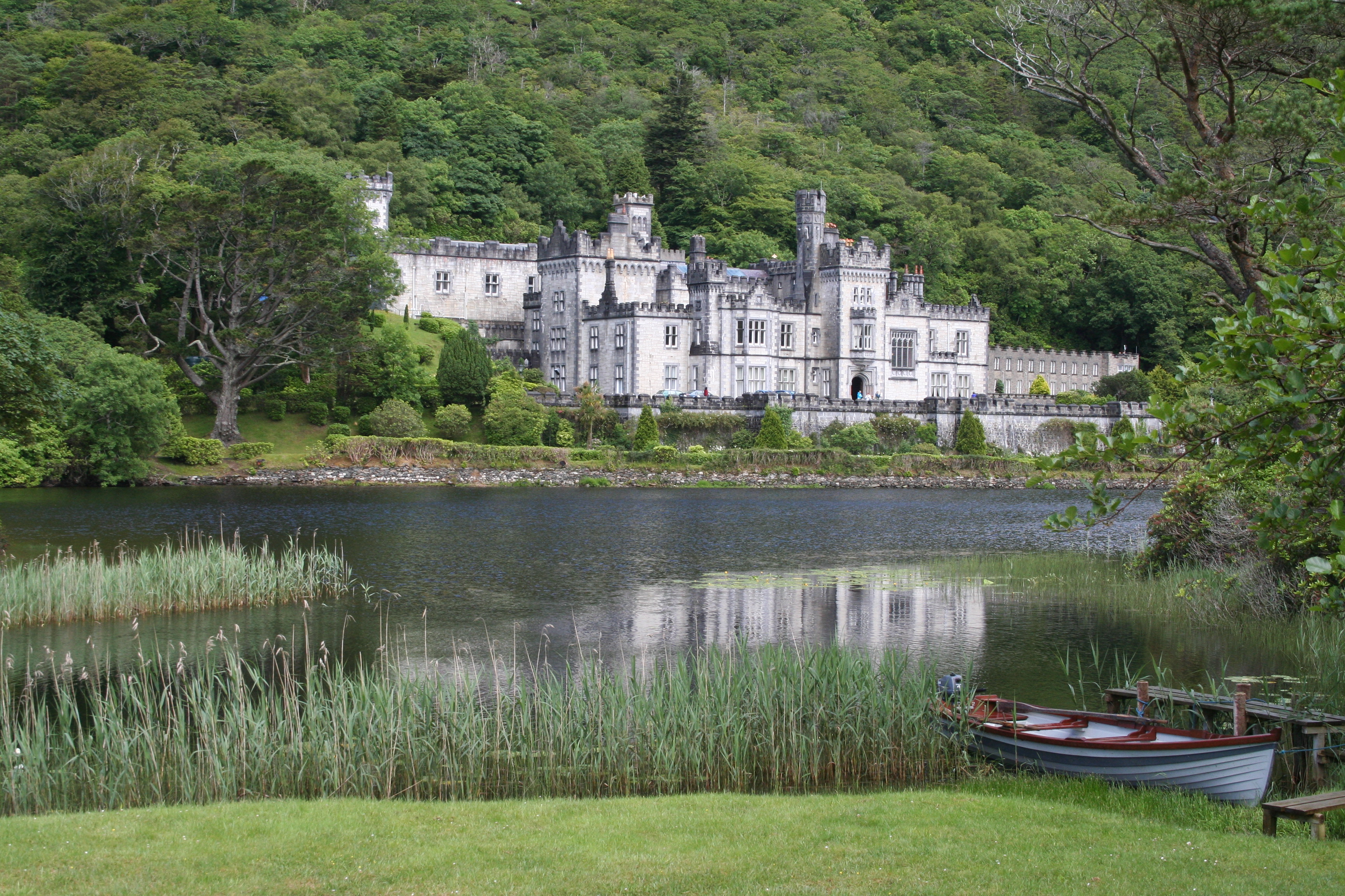 I shoot people and I shoot places. This is Kylemore Abbey in Ireland. Taken June 2007.