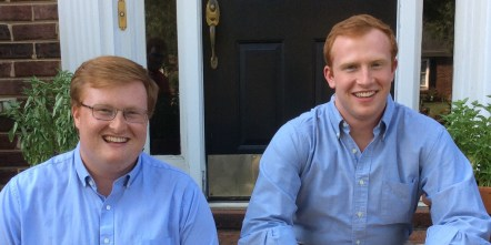 Christopher Paschal (left) and Brendan Paschal (right)