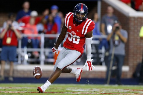 46acb5471b6 Zedrick Woods has had to play a couple of positions due to injuries. Image  from Ole Miss Athletics.