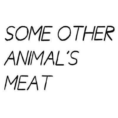 some animal meat