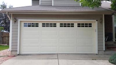 Garage door services in the Denver area