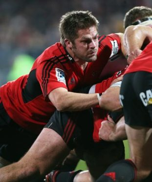 RETURNING: Richie McCaw has not played a game since the All Blacks' last-gasp win over Ireland last November.