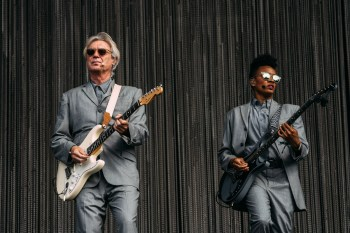 David Byrne at the Austin City Limits Festival 10/12/2018. Photo by Greg Noire. Courtesy ACL Fest/C3 Photo
