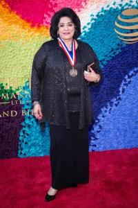 Dr. Martha Villarreal (Arts Education) Texas Medal of Arts Awards Red Carpet, Long Center, Austin, TX 2/27/2019. © 2019 Jim Chapin Photography