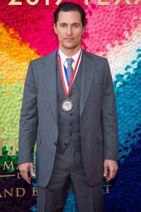 Matthew McConaughey (Film) at the Texas Medal of Arts Awards Red Carpet, Long Center, Austin, TX 2/27/2019. © 2019 Jim Chapin Photography