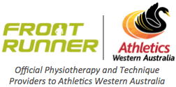 Front Runner and Ath WA Official Sponsor