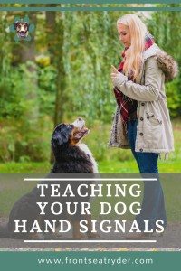 Hand signals are very important in dog training, but all too often overlooked. Here are some practical ways teaching your dog hand signals is important.